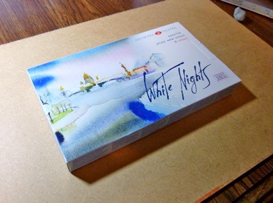 Nevskaya Palitra White Nights Watercolor Set