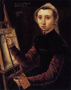 Catharina van Hemessen, Self-portrait, 1548