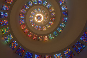 Five of the Most Beautiful Stained Glass Ceilings in the U.S.